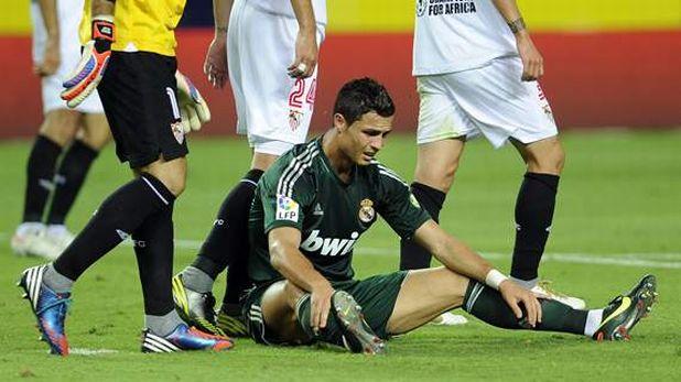 Кристиано Роналдо, Реал (Мадрид), тъжен