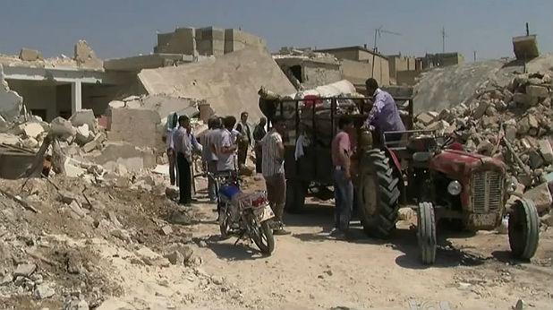 Гражданската война в Сирия