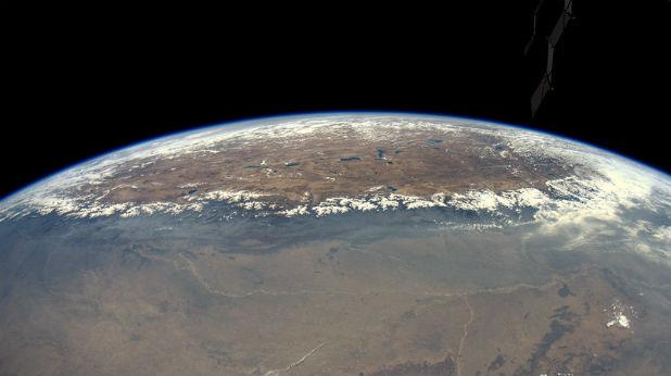 Хималаите от Космоса