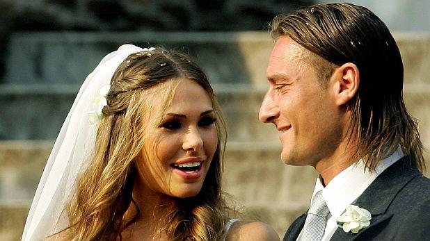 Сватбата на Илари Блази и Франческо Тоти