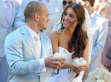 Сватбата на Уесли Снайдер и Йоланте Кабау