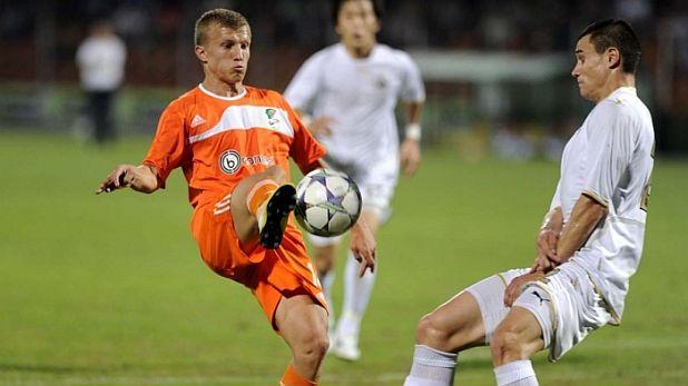 Армандо Ваюши се отличи с два гола при разгрома на Литекс над Славия с 5:0 на 29 септември 2012