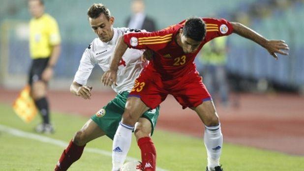 Веселин Минев в мача България - Армения (1:0), квалификация за Мондиал 2014