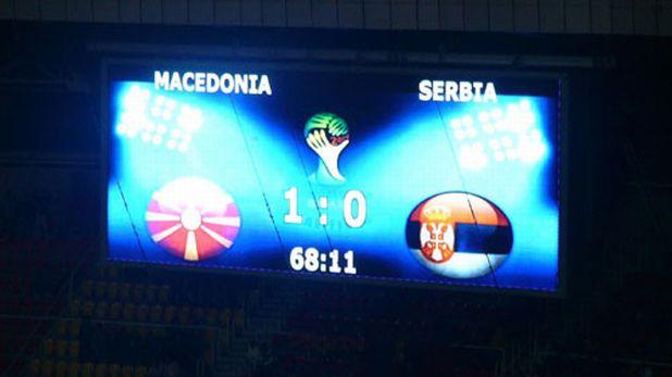 Македония победи Сърбия с 1:0 в квалификация за Мондиал 2014 на 16 октомври 2012