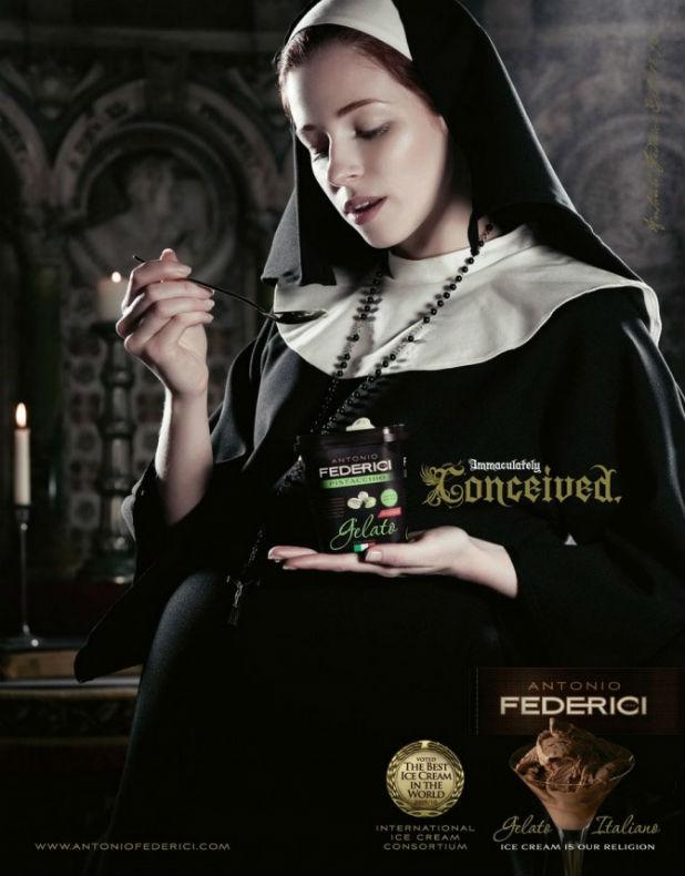 Бременна монахиня