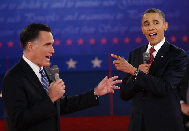Дебатът между Барак Обама и Мит Ромни