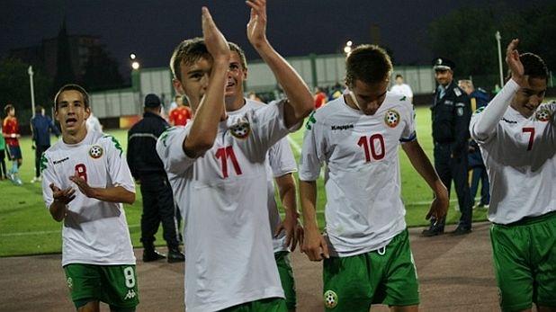 България, национален отбор, юноши, юноши до 17 години, Чавдар Ивайлов, Антонио Вутов