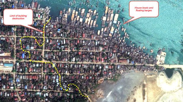 Мюсюлмански квартал преди сблъсъците