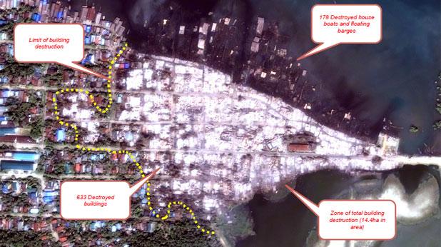 Мюсюлманският квартал е унищожен