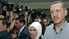 Реджеп Ердоган гласува