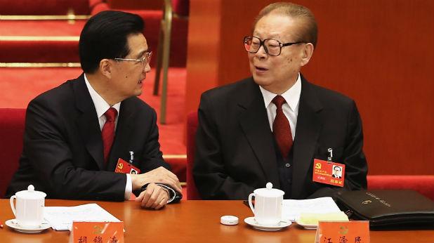 Ху Дзинтао и Дзян Дзъмин