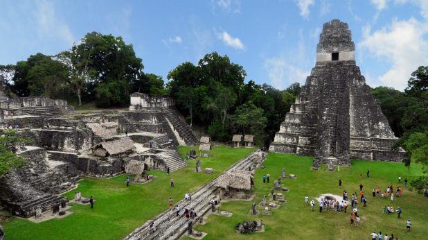 Руините на град Тикал