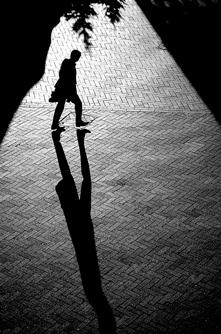 Сянка на мъж