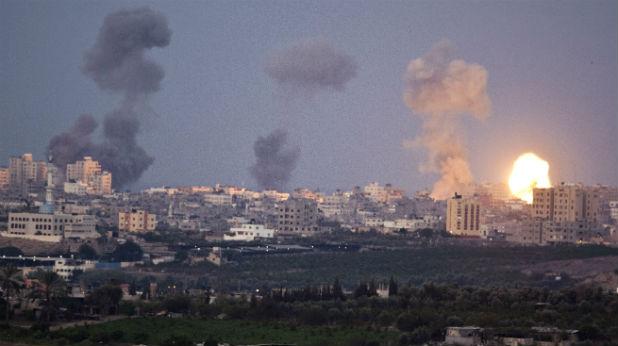 Удар по Газа