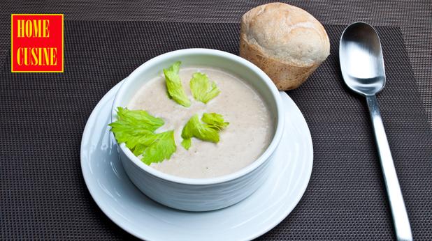 крем супа с кестени и манатарки