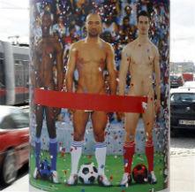 гол мъж постер