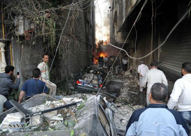 Атентат в Дамаск