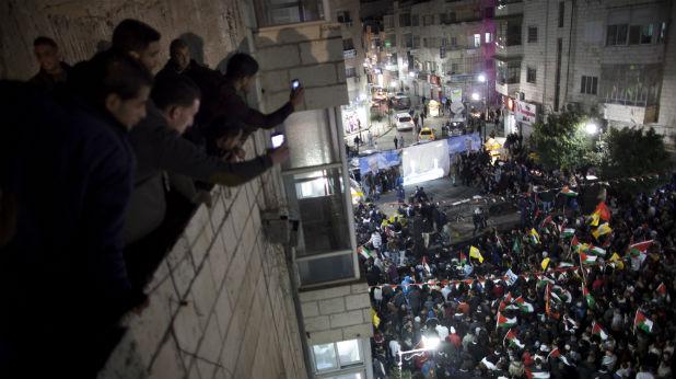 Палестина празнува