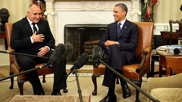 Бойко Борисов и Барак Обама
