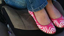 Розовите обувки