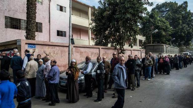 Египет гласува за новата конституция
