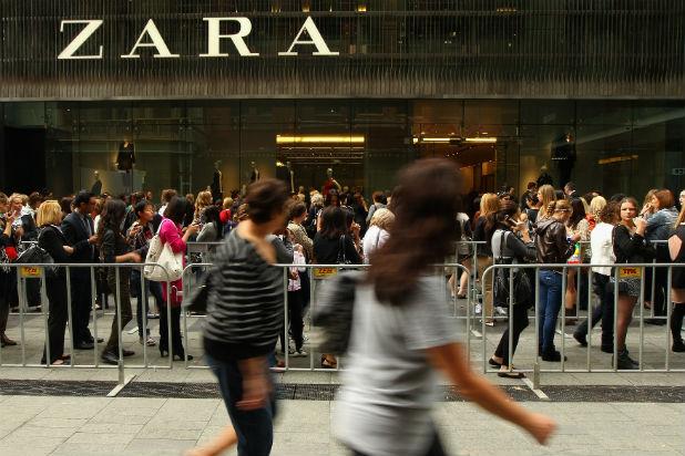 Магазин на Zara