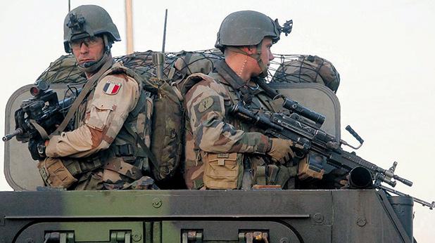 Френски войници