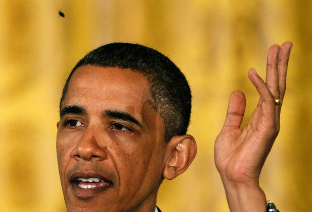 Барак Обама и муха