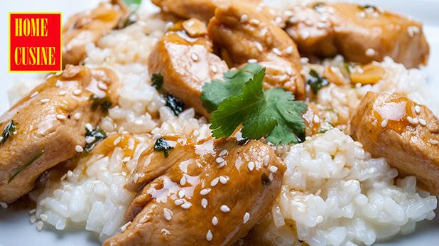 пиле с чесън и кориандър