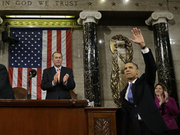 Барак Обама и Джон Бонър