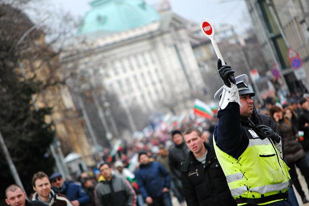 грандиозен протест