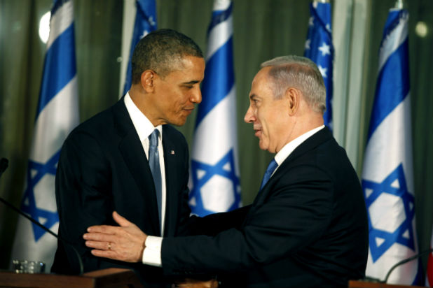 Обама и Нетаняху