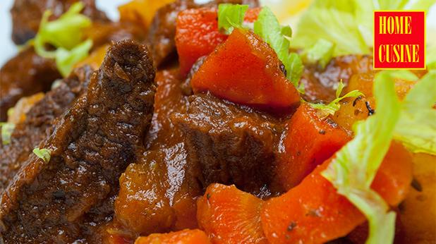 телешко с целина и моркови
