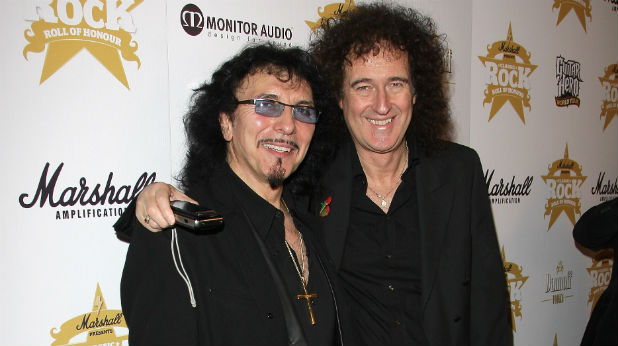 Tony Iommi Brian May