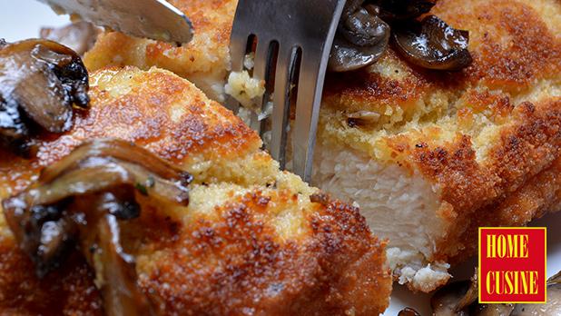 панирано пилешко филе