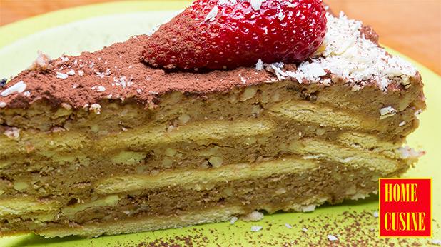 торта с козуначен крем