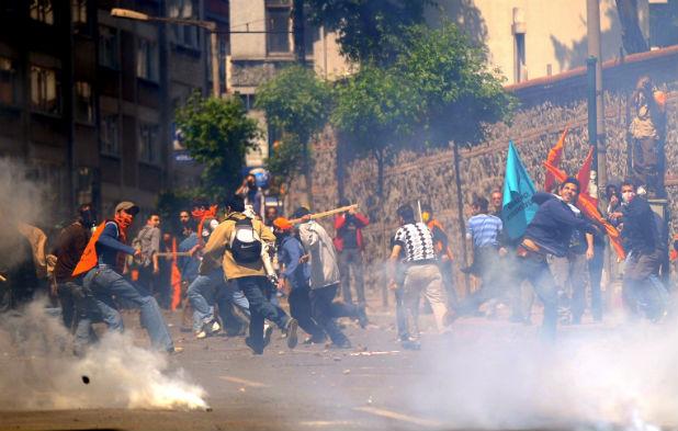 Протест в Истанбул