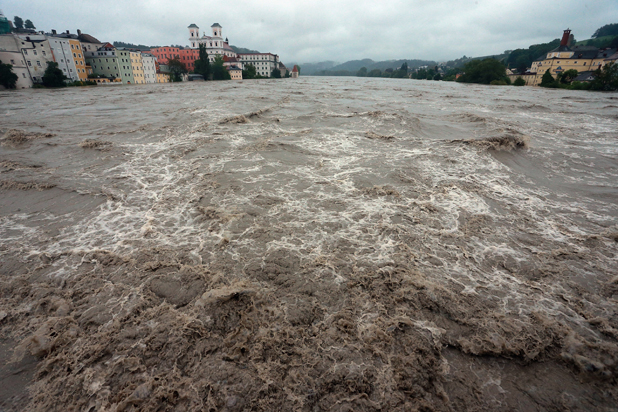 наводнения в германия