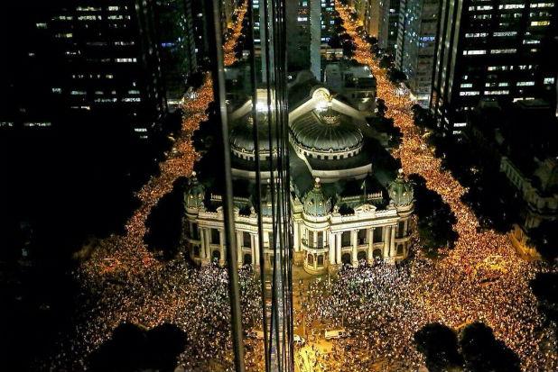 Протест в Бразилия
