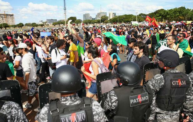 Протести в Бразилия