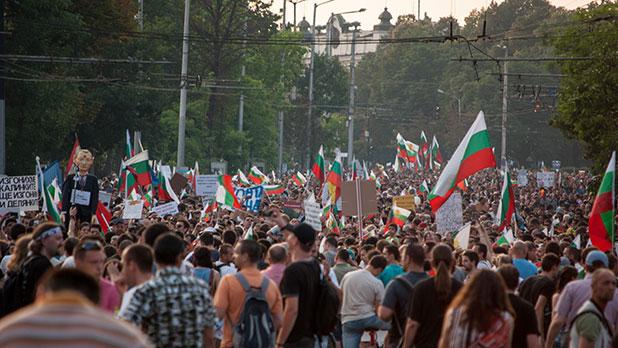 протест, 20 юни