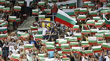 фенове на бг в арена армеец на бг - арж, световна лига 2013