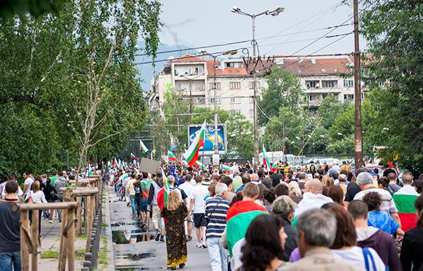 23 юни, протест