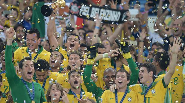 бразилия печели купата на конф. 2013