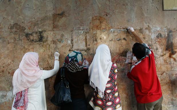 графити в египет