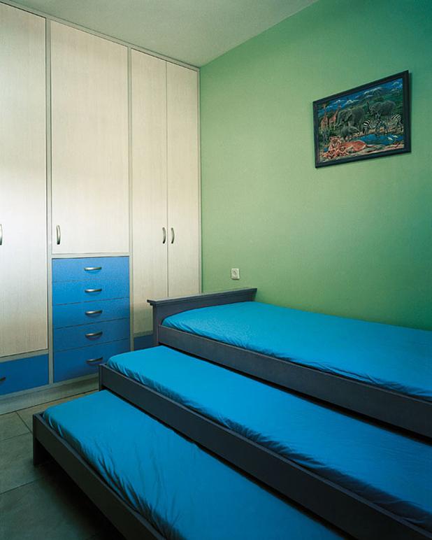 къде спят децата