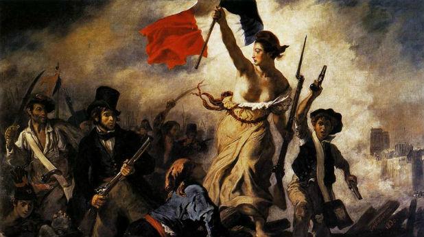 Свободата води народа