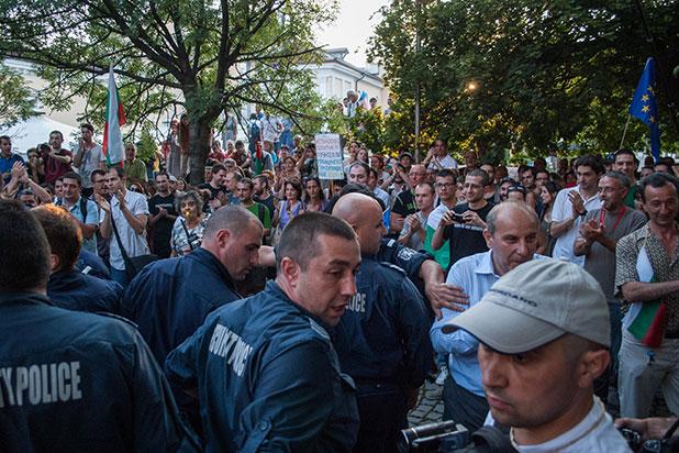 протест, 23 юли