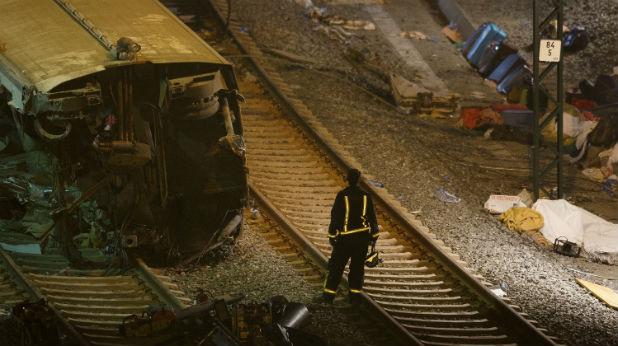 Влак катастрофира в Испания