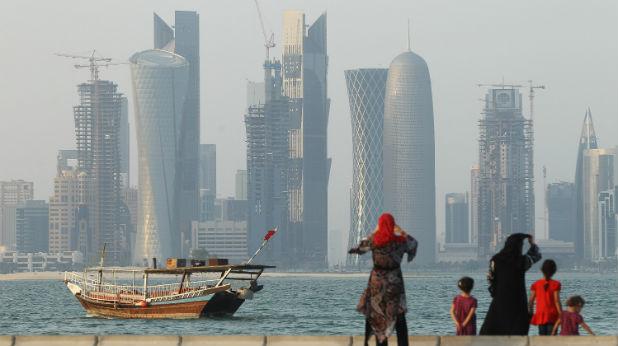 Изглед от Доха, Катар